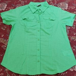Columbia Short Sleeve Button-down